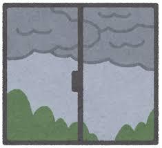 雨が降りそう