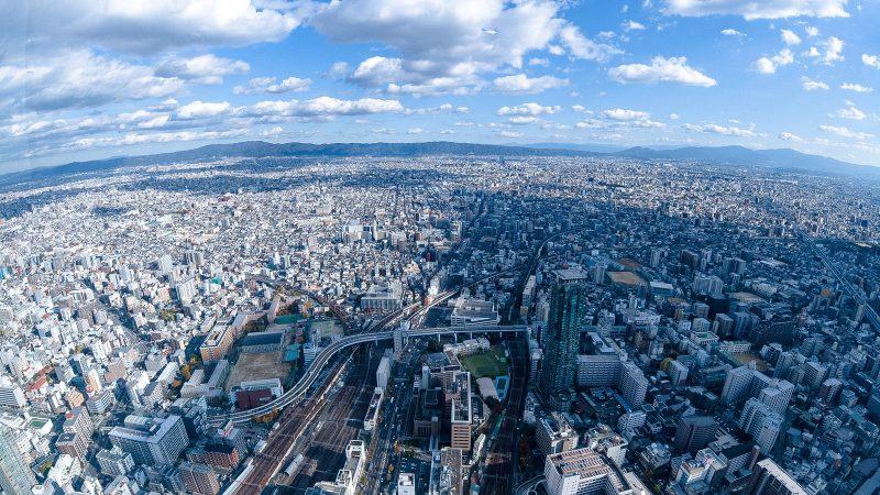 都市の風景 葬式のイメージ