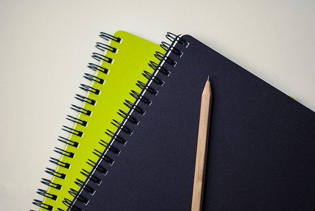 経歴をメモするノート