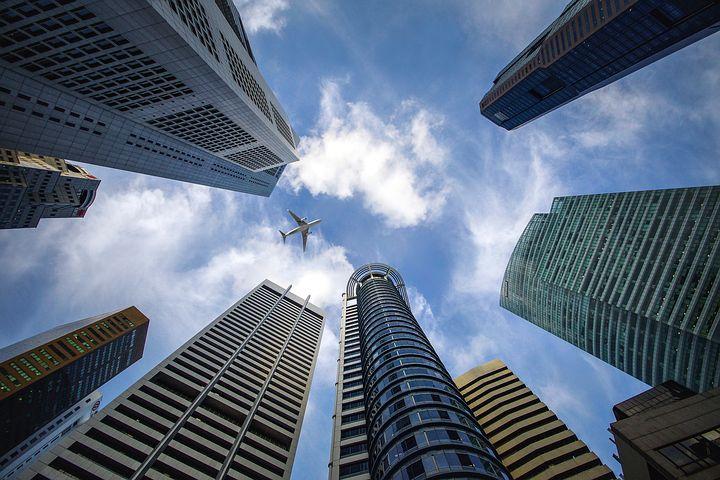 都市の高層ビル